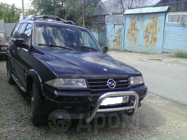 SsangYong Musso, 1997 год, 225 000 руб.