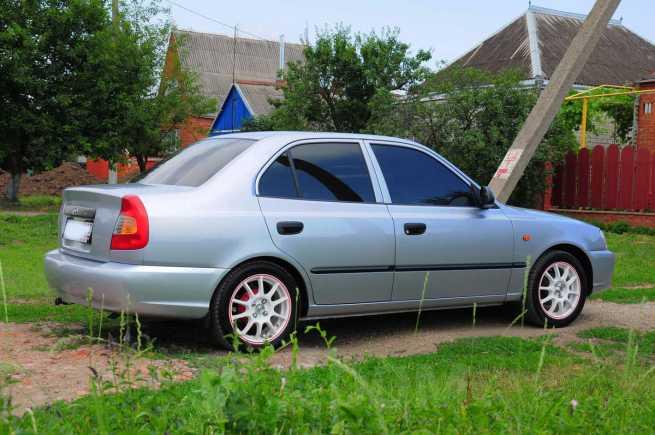 Hyundai Accent, 2007 год, 300 000 руб.
