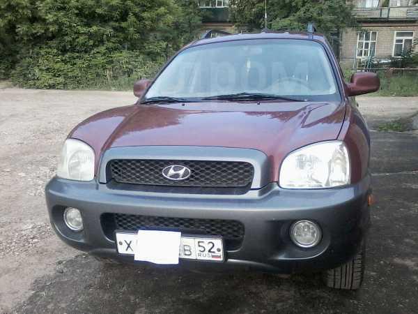 Hyundai Santa Fe, 2001 год, 420 000 руб.