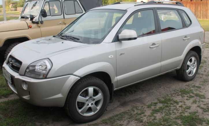 Hyundai Tucson, 2007 год, 599 000 руб.