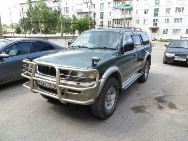 Mitsubishi Challenger, 1996 год, 380 000 руб.