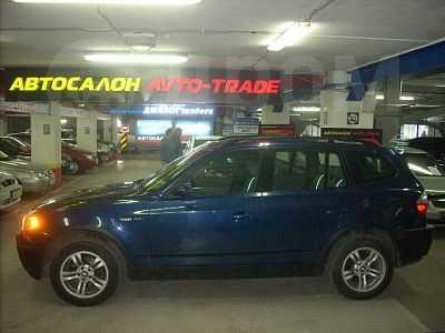 BMW X3, 2003 год, 607 000 руб.
