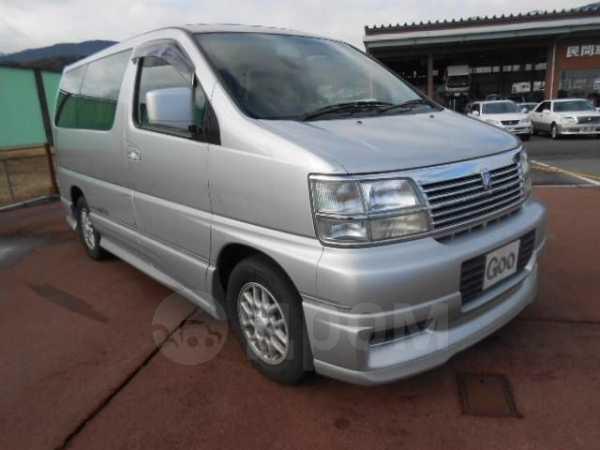 Nissan Elgrand, 1998 год, 150 000 руб.