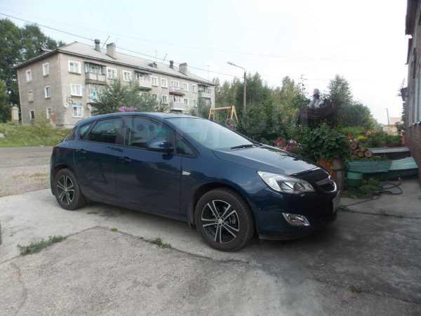 Opel Astra, 2012 год, 625 000 руб.