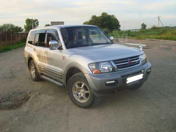 Mitsubishi Pajero, 2001 год, 650 000 руб.