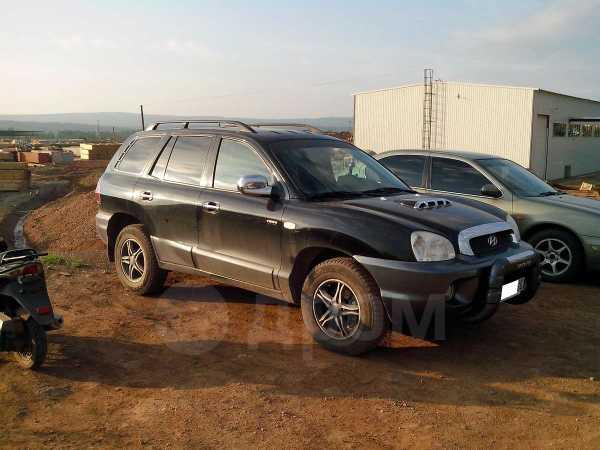 Hyundai Santa Fe, 2003 год, 480 000 руб.