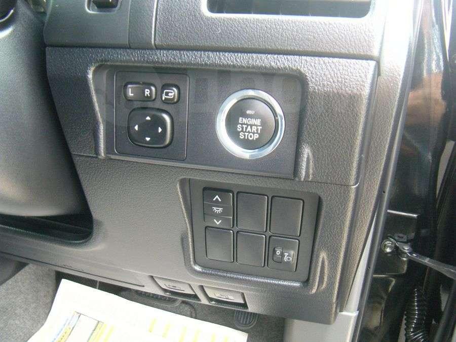 Кнопки на передней консоли прадо 150