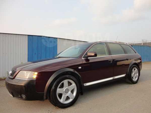 Audi A6 allroad quattro, 2002 год, 630 000 руб.