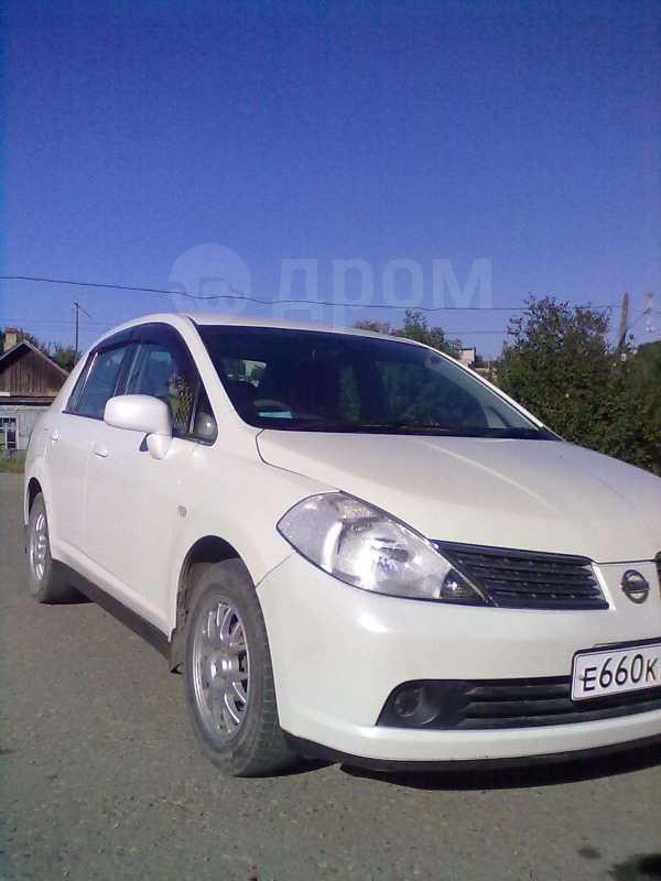 Nissan Tiida Latio, 2005 год, 280 000 руб.