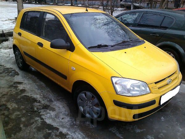 Hyundai Getz, 2005 год, 195 000 руб.