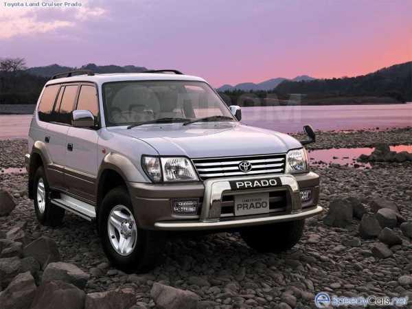 Toyota Land Cruiser Prado, 2001 год, 690 000 руб.