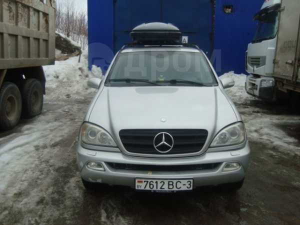 Mercedes-Benz M-Class, 2002 год, 480 000 руб.