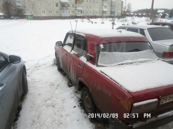 Лада 2107, 1990 год, 10 000 руб.