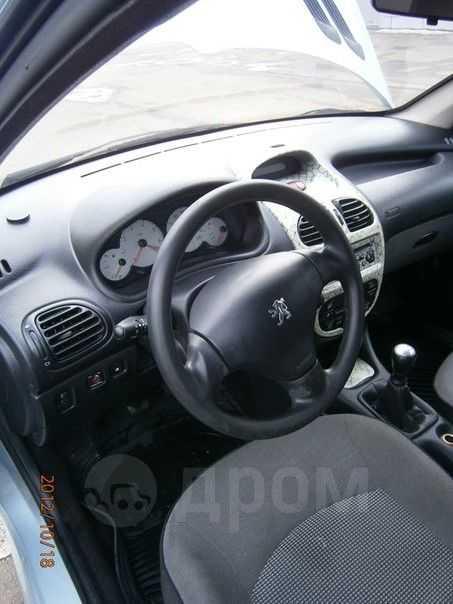 Peugeot 206, 2007 год, 230 000 руб.