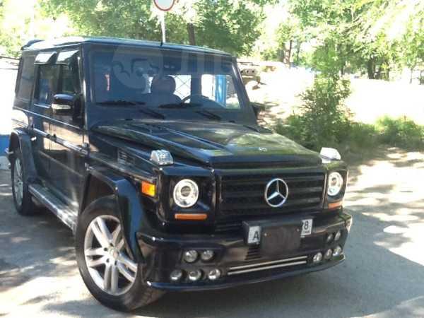 Mercedes-Benz G-Class, 2002 год, 1 400 000 руб.