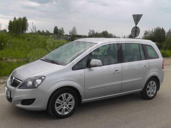 Opel Zafira, 2012 год, 730 000 руб.
