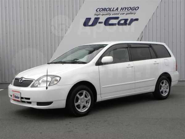 Toyota Corolla Fielder, 2002 год, 170 000 руб.