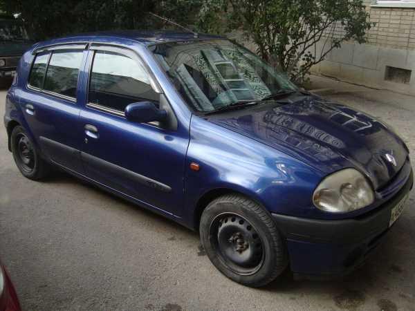 Renault Clio, 2001 год, 140 000 руб.