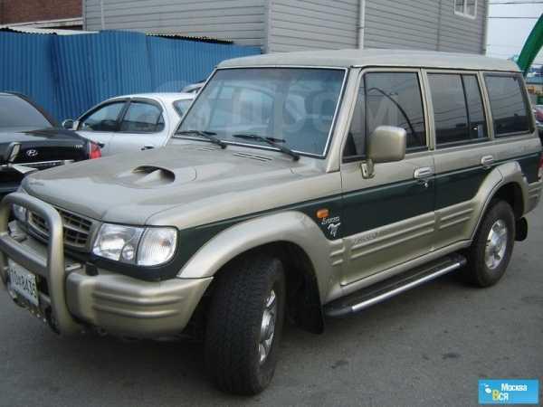 Hyundai Galloper, 2000 год, 460 000 руб.