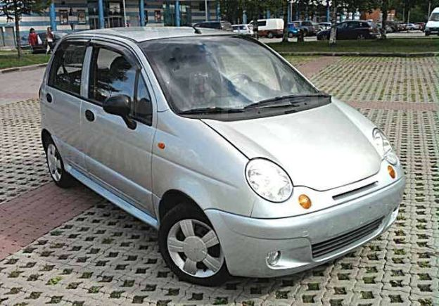 Daewoo Matiz, 2007 год, 190 000 руб.