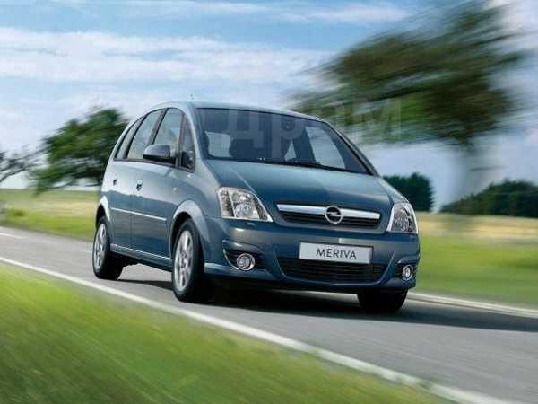 Opel Meriva, 2007 год, 348 000 руб.