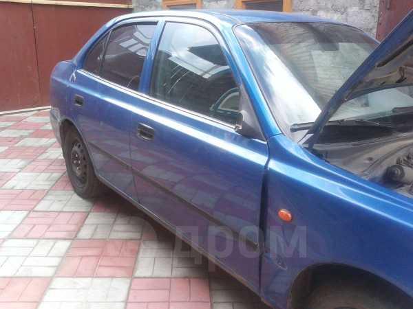 Hyundai Accent, 2002 год, 95 000 руб.