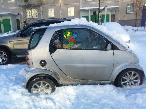 Smart Fortwo, 2005 год, 200 000 руб.