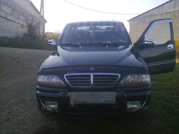 SsangYong Musso Sports, 2005 год, 450 000 руб.