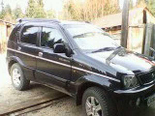 Daihatsu Terios, 2002 год, 350 000 руб.