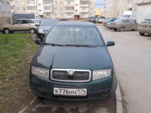 Skoda Fabia, 2002 год, 210 000 руб.