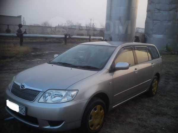 Toyota Corolla Fielder, 2005 год, 329 000 руб.
