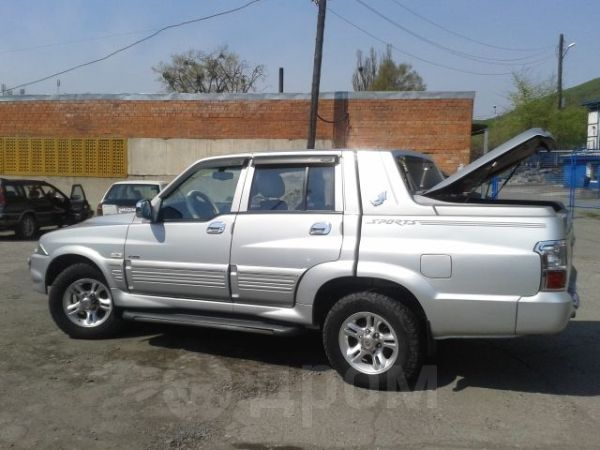 SsangYong Musso Sports, 2005 год, 280 000 руб.
