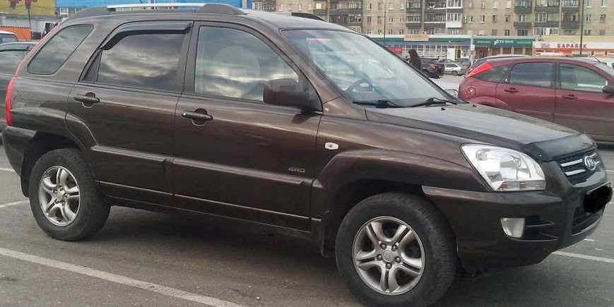 Kia Sportage, 2008 год, 595 000 руб.