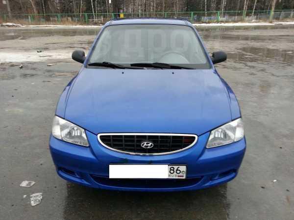 Hyundai Accent, 2003 год, 170 000 руб.