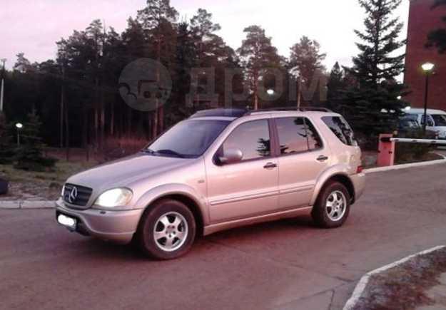 Mercedes-Benz M-Class, 2000 год, 385 000 руб.