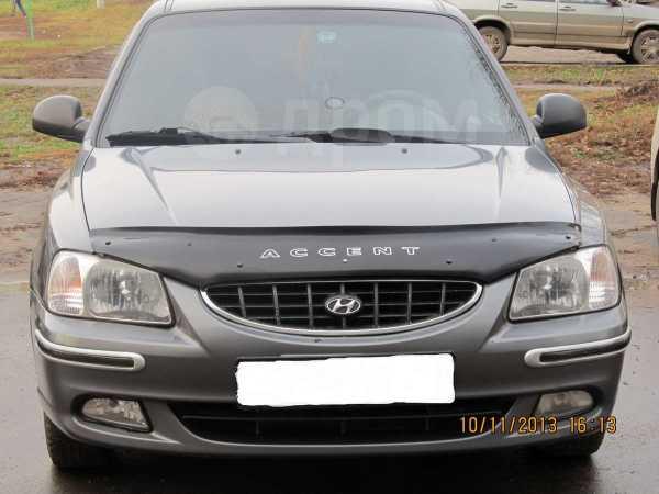 Hyundai Accent, 2003 год, 190 000 руб.