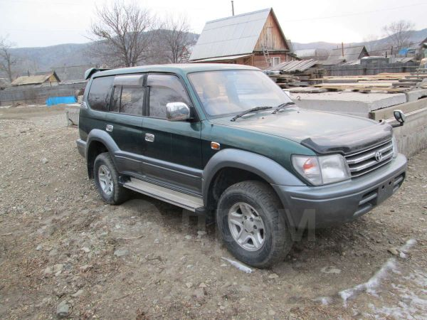 Toyota Land Cruiser Prado, 1998 год, 525 000 руб.
