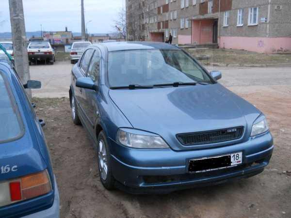 Opel Astra, 2002 год, 190 000 руб.