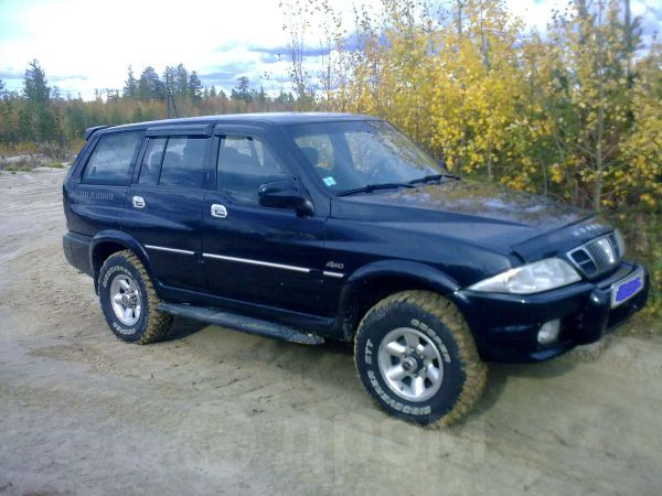 SsangYong Musso, 1999 год, 240 000 руб.