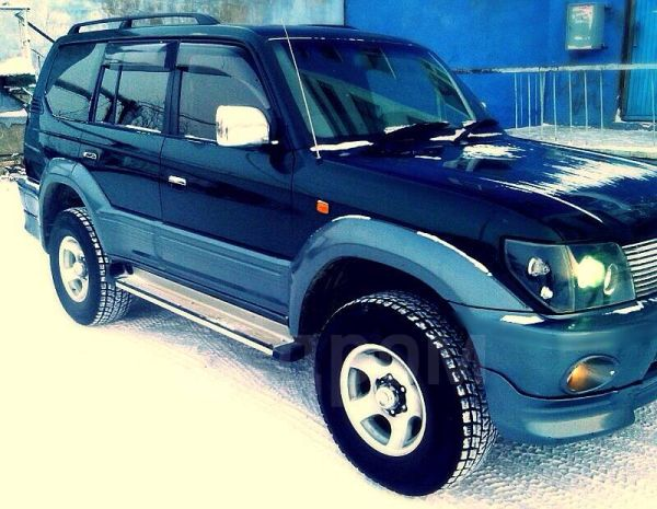 Toyota Land Cruiser Prado, 1998 год, 599 999 руб.