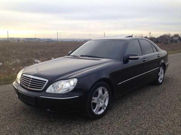 Mercedes-Benz S-Class, 2002 год, 540 000 руб.