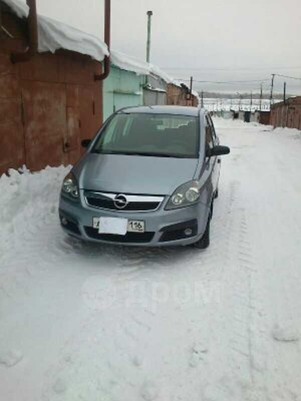 Opel Zafira, 2007 год, 414 000 руб.