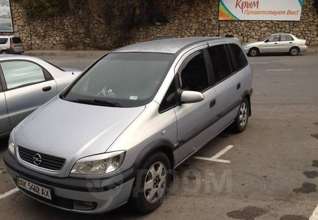 Opel Zafira, 2003 год, 250 000 руб.