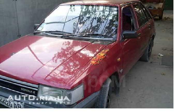 Toyota Corolla II, 1984 год, 15 000 руб.
