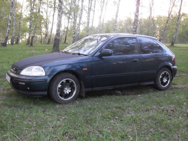 Honda Civic, 1996 год, 135 000 руб.