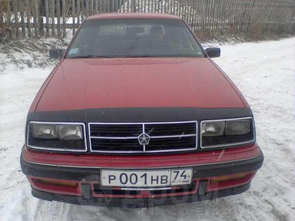 Chrysler Le Baron, 1989 год, 80 000 руб.