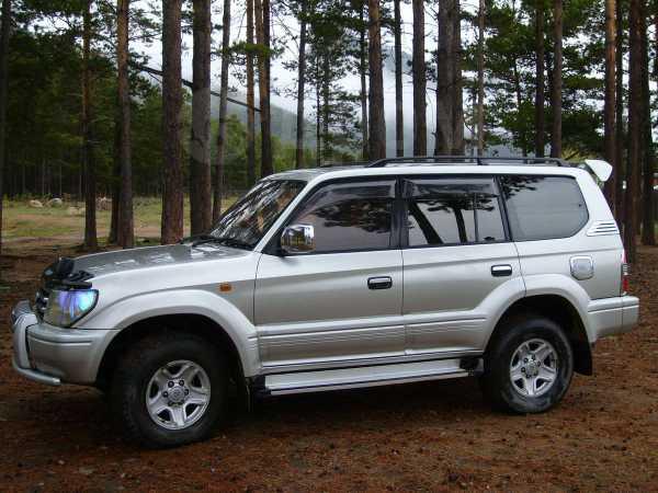 Toyota Land Cruiser Prado, 1998 год, 670 000 руб.