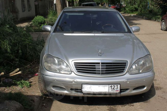 Mercedes-Benz S-Class, 2000 год, 470 000 руб.
