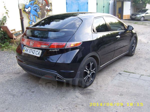Honda Civic, 2007 год, $13800