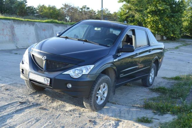 SsangYong Actyon Sports, 2008 год, 525 000 руб.